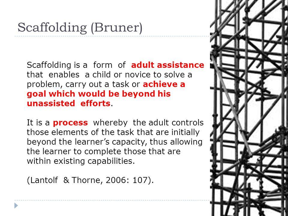 bruner scaffolding