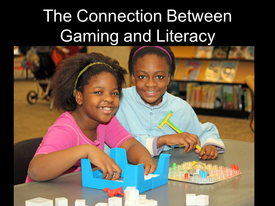 The Connection Between Gaming and Literacy
