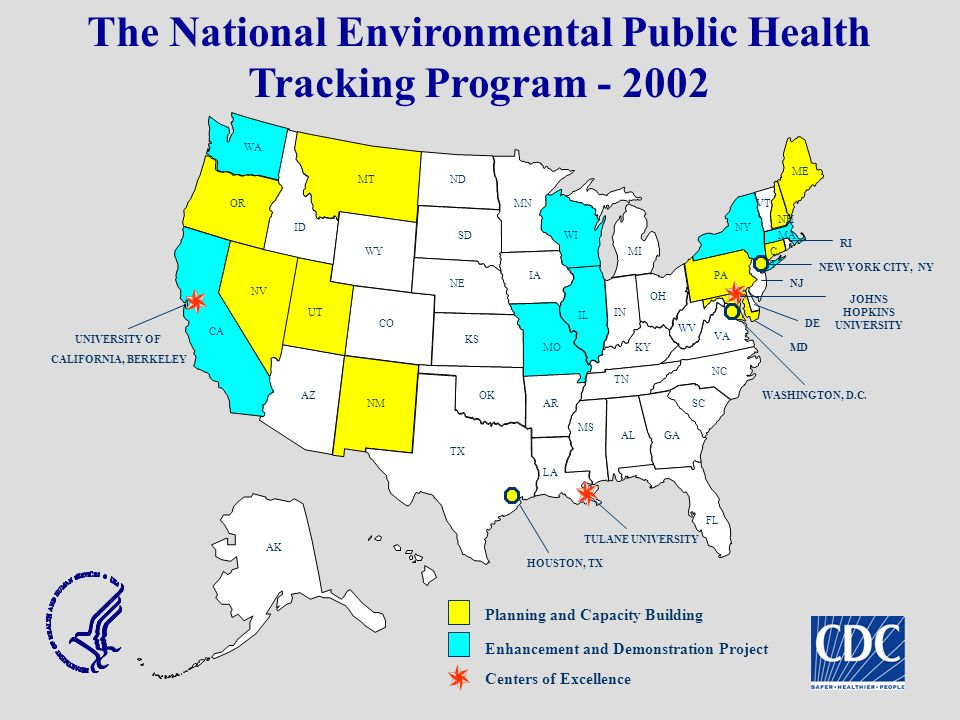 The National Environmental Public Health Tracking Program - 2002