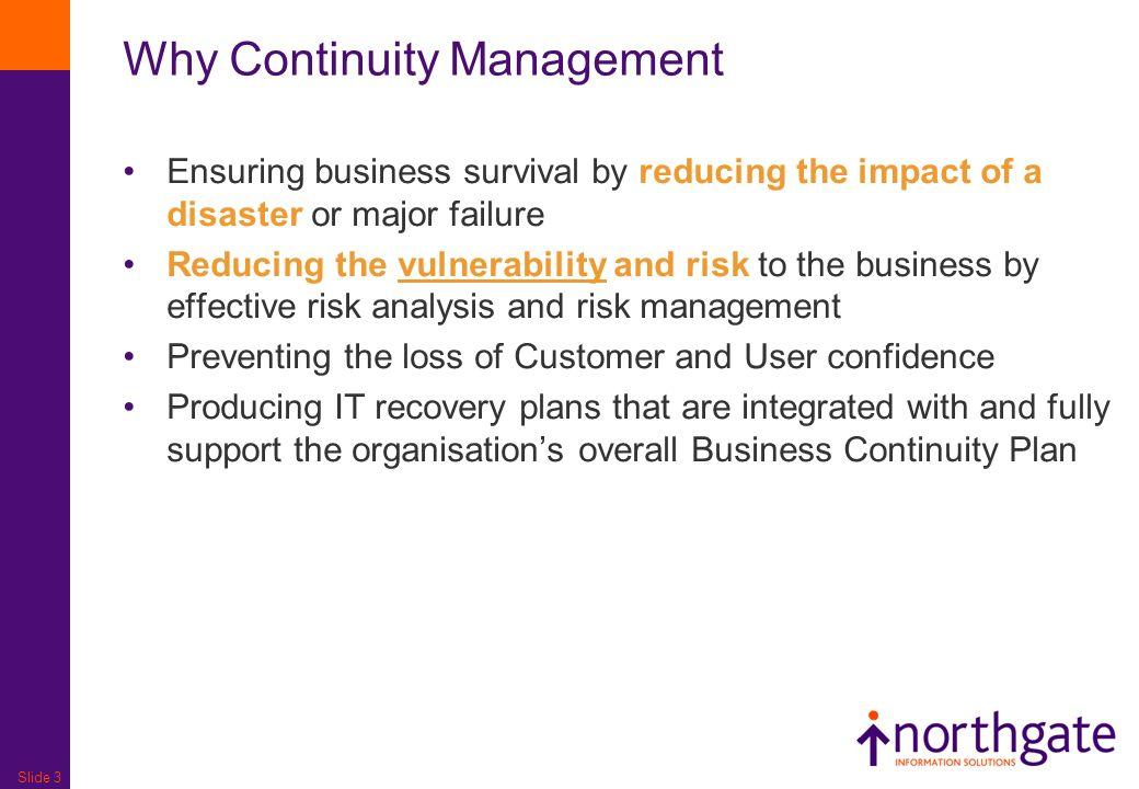 It Service Continuity Management Ppt Video Online Download