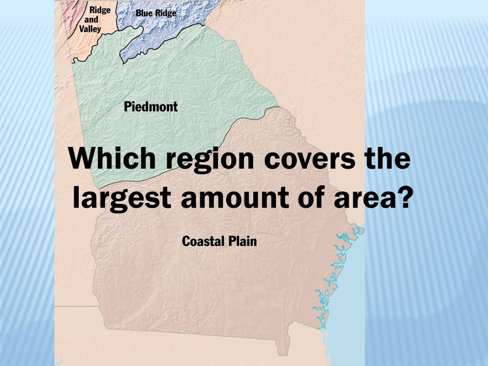 Which region covers the