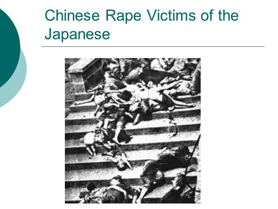 Chinese Rape Victims of the Japanese