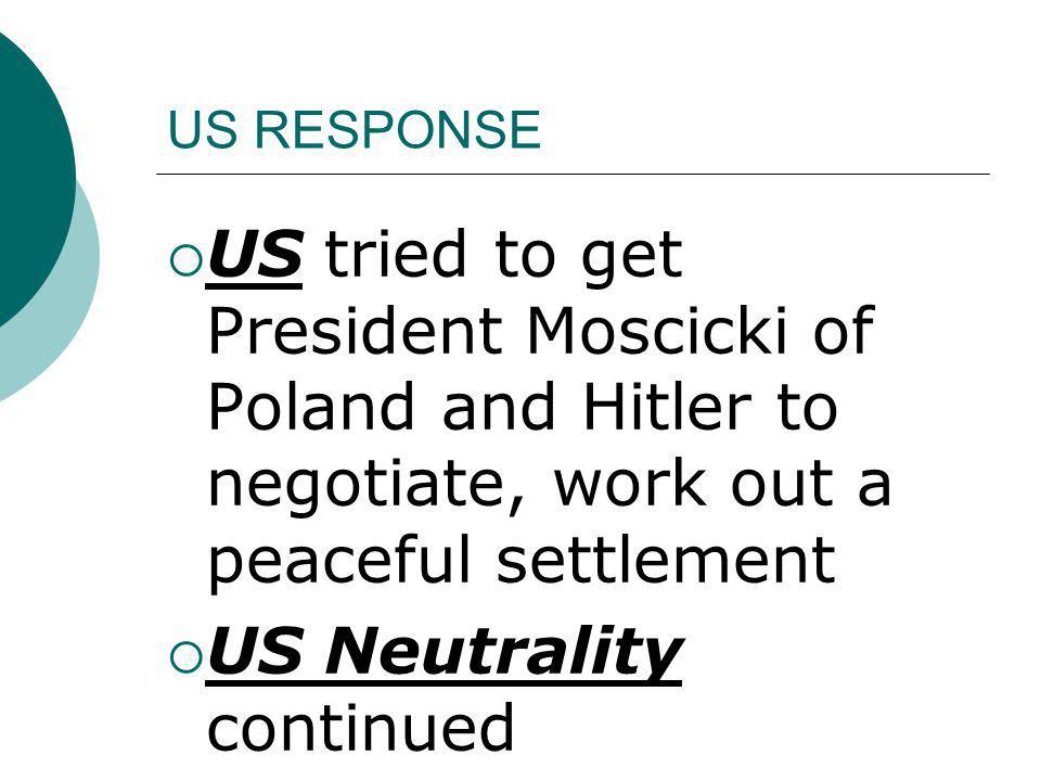 US Neutrality continued