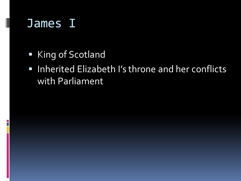 James I King of Scotland