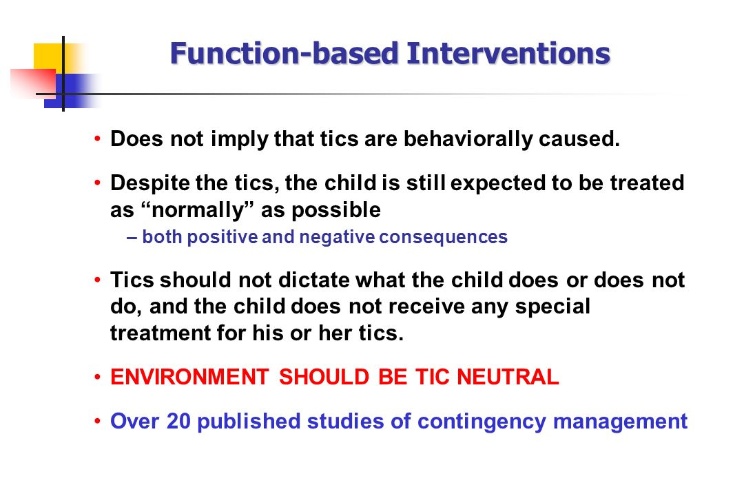 Function-based Interventions