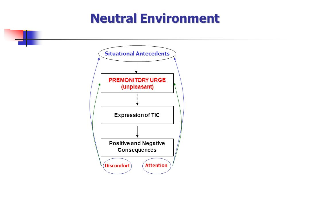 Neutral Environment Situational Antecedents