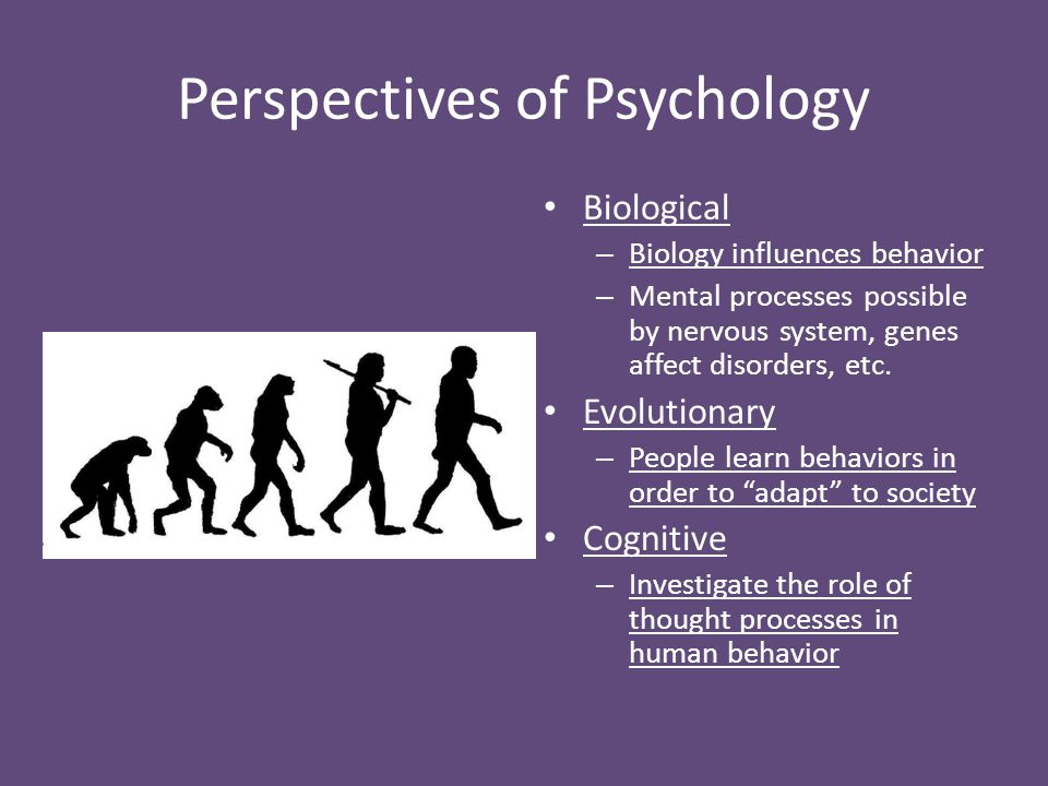 Perspectives of Psychology