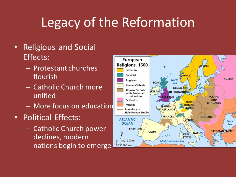 Legacy of the Reformation