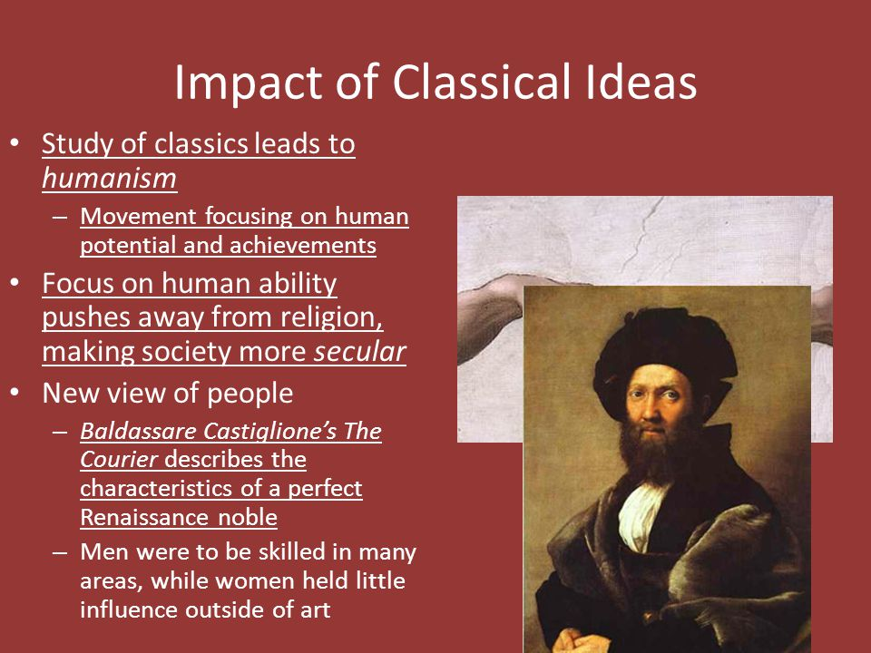 Impact of Classical Ideas