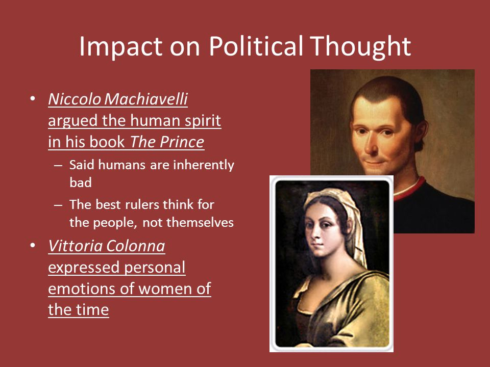 Impact on Political Thought