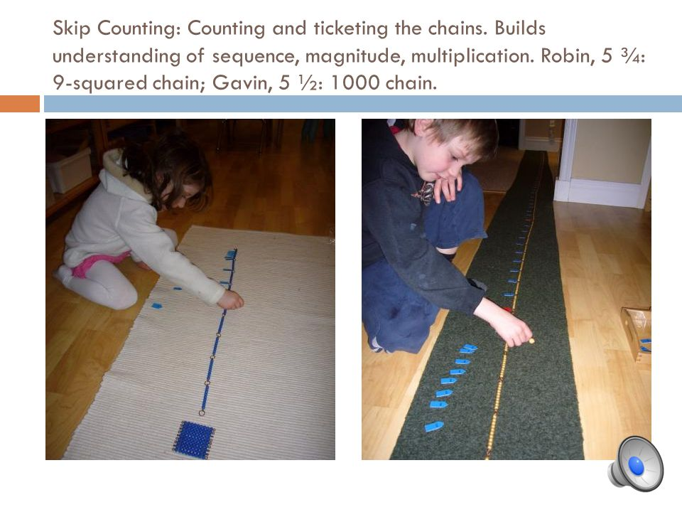 Skip Counting: Counting and ticketing the chains