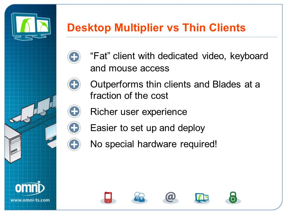 Desktop Multiplier vs Thin Clients