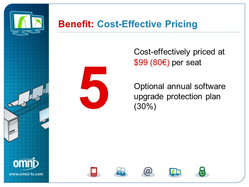 Benefit 5: Cost-Effective Pricing
