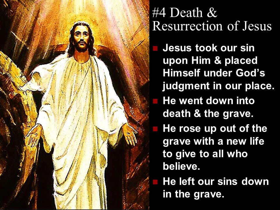 #4 Death & Resurrection of Jesus