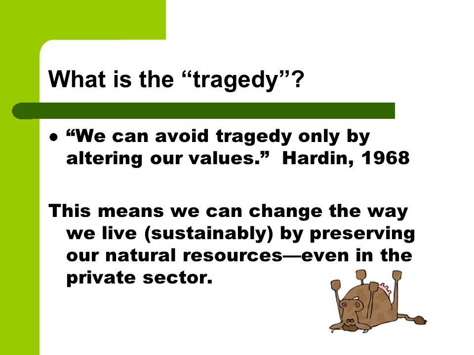 tragedy of the commons garrett hardin summary