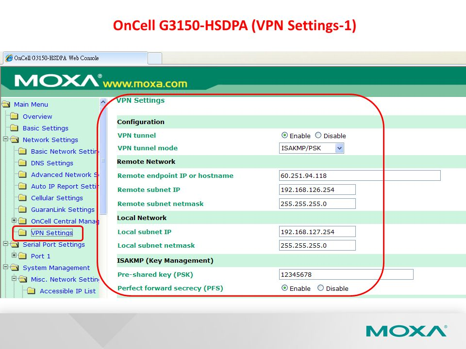 OnCell G3150-HSDPA (VPN Settings-1)