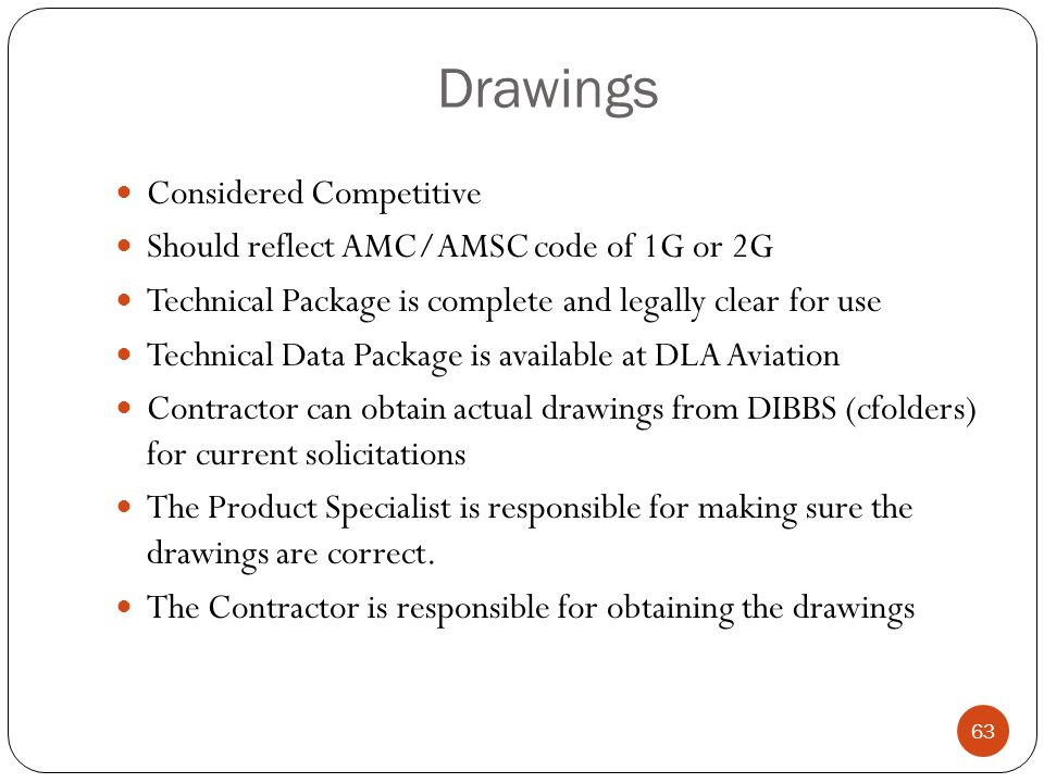 Drawings Considered Competitive