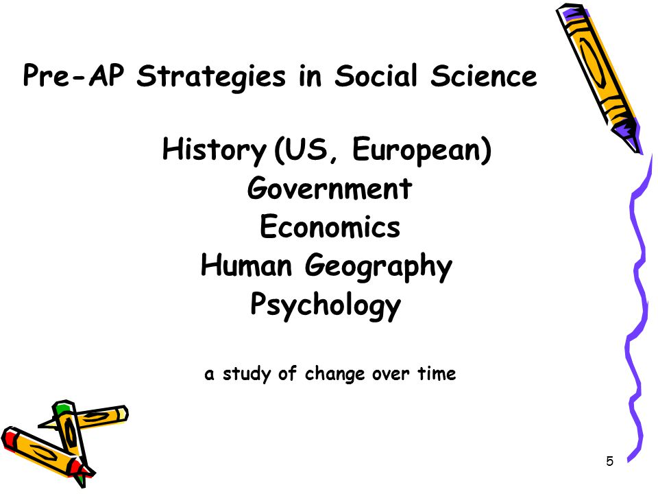 Pre-AP Strategies in Social Science