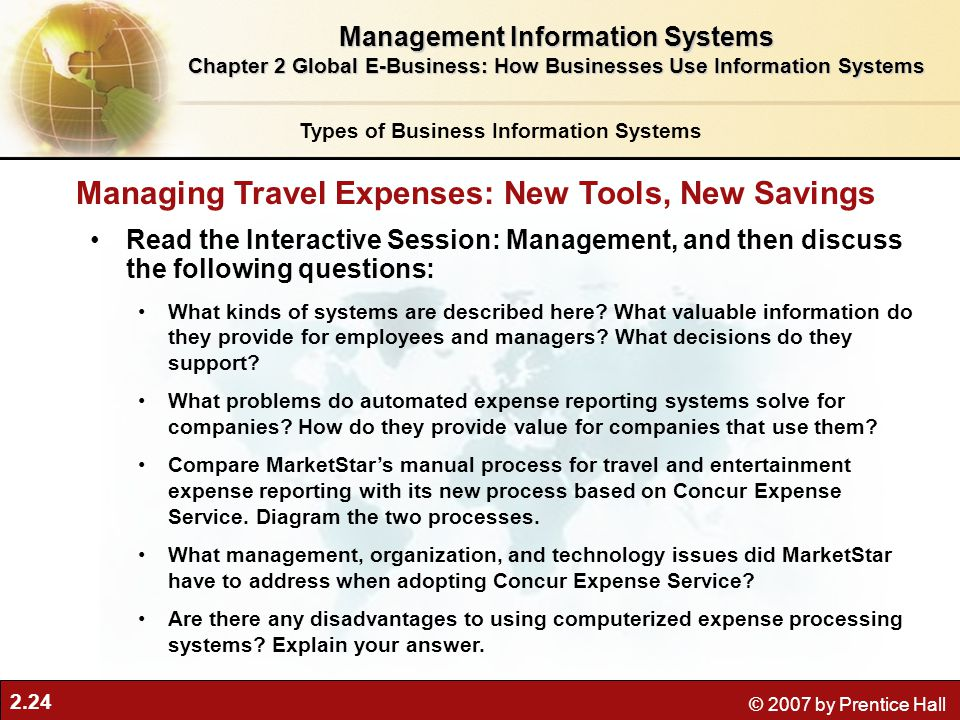 Managing Travel Expenses: New Tools, New Savings