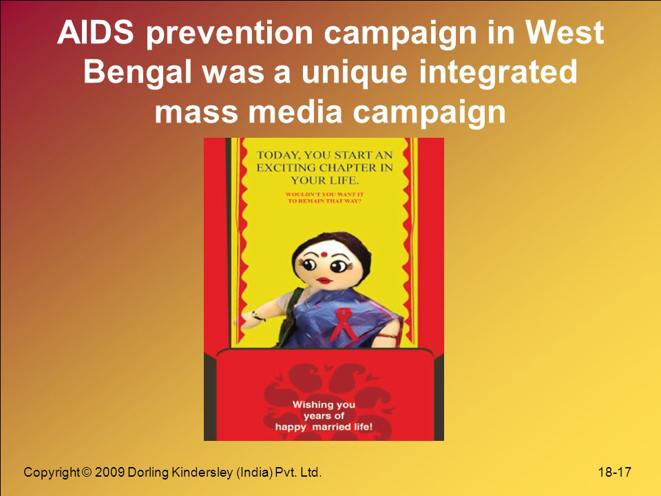 AIDS prevention campaign in West Bengal was a unique integrated mass media campaign