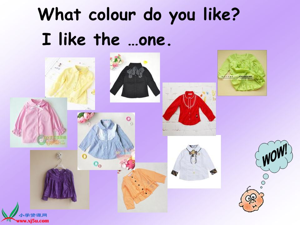 What colour do you like I like the …one.