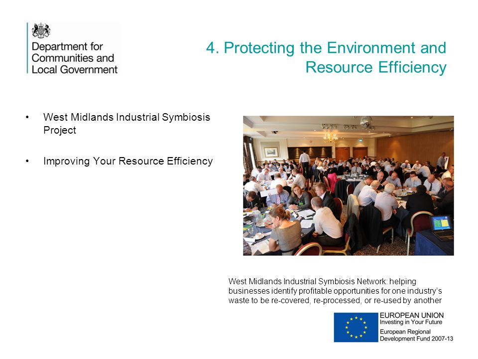 4. Protecting the Environment and Resource Efficiency