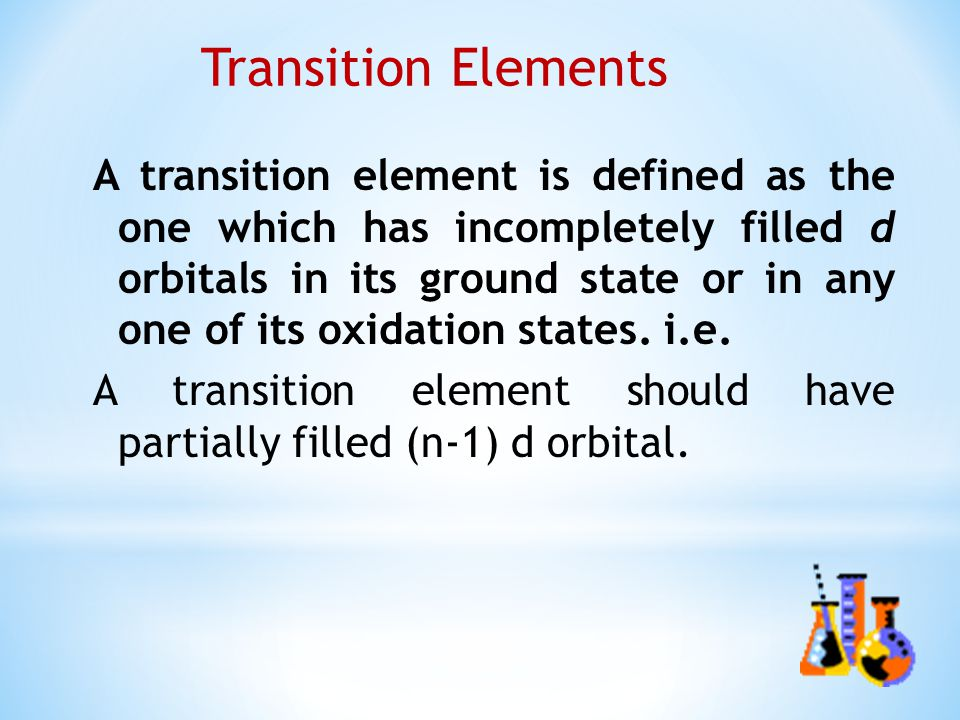 D and f block elements study material for iit jee | askiitians.