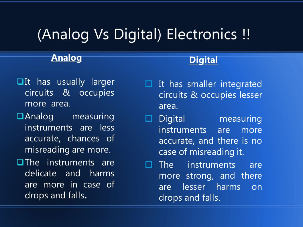 Digital System Advantage Scope Future Possibilities Ppt Video Analog And Integrated Circuits 2009 June Engineering 5