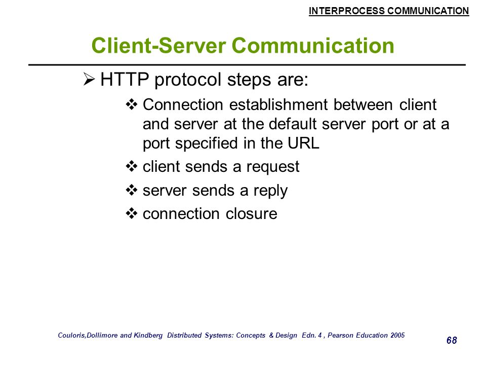 Client-Server Communication