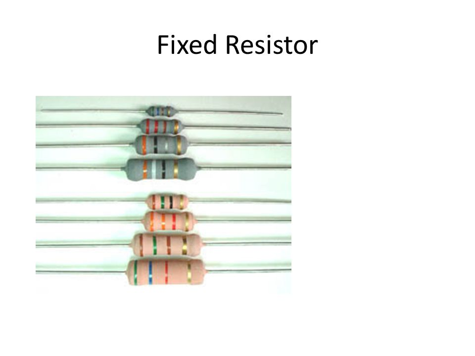 Fixed Resistor
