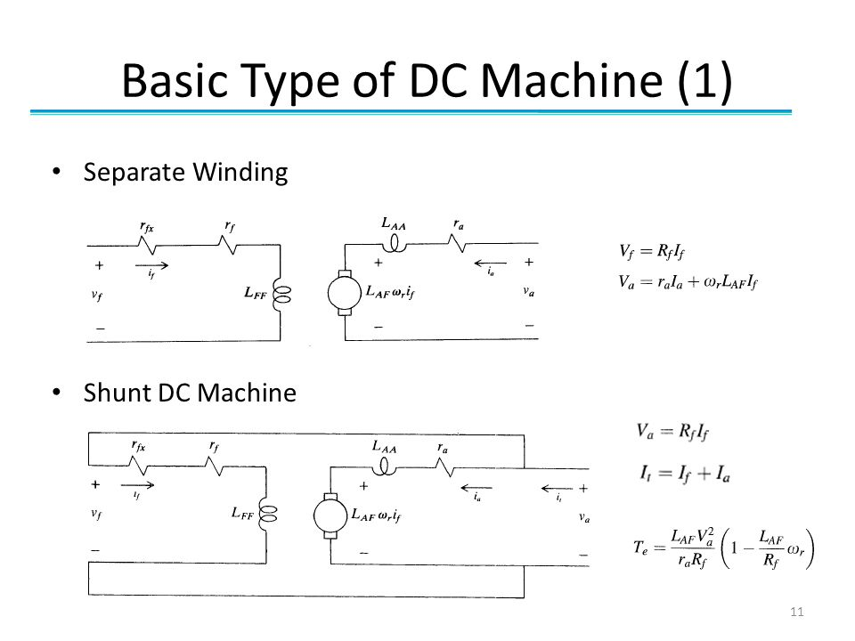 Basic Type of DC Machine (1)