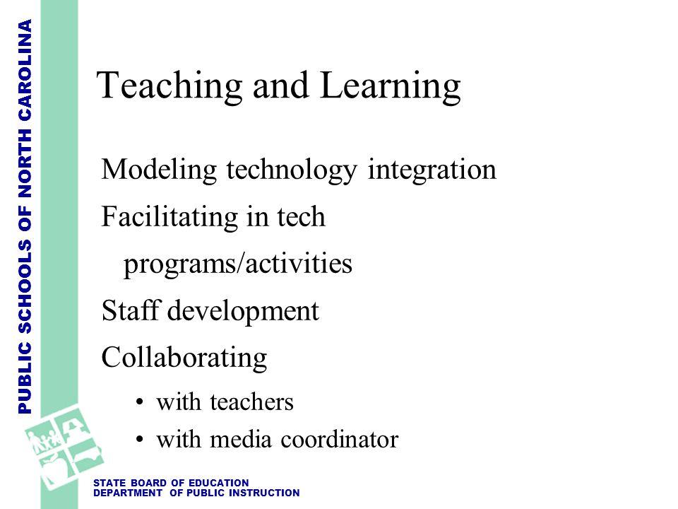Teaching and Learning Modeling technology integration