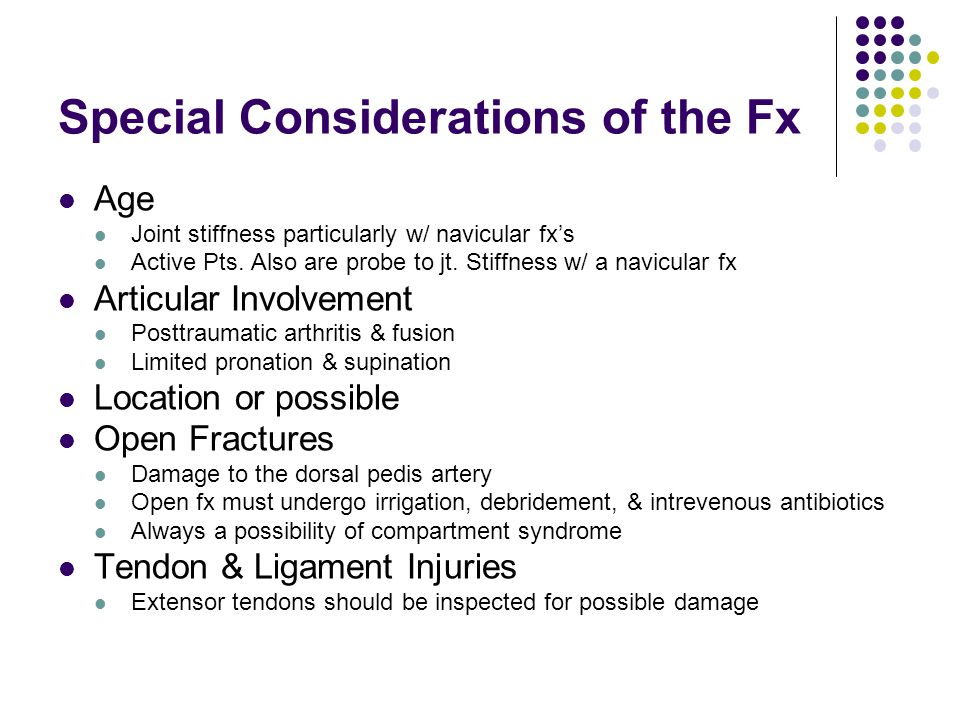 Special Considerations of the Fx