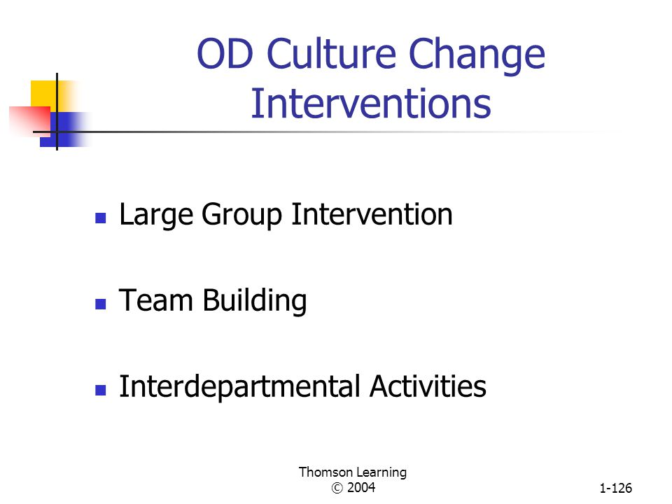 OD Culture Change Interventions