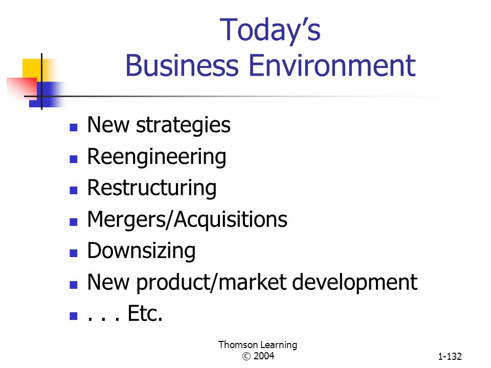 Today's Business Environment
