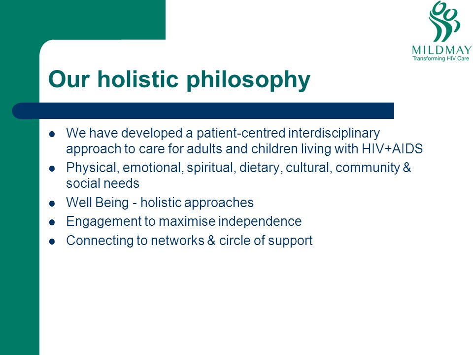 Our holistic philosophy