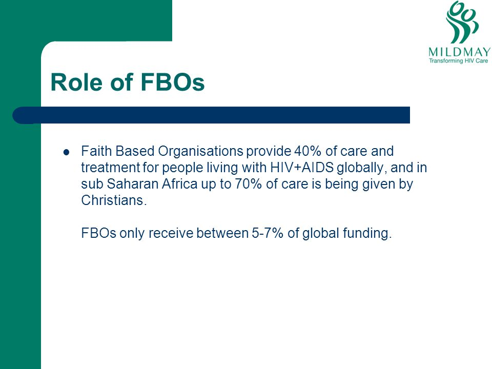 Role of FBOs