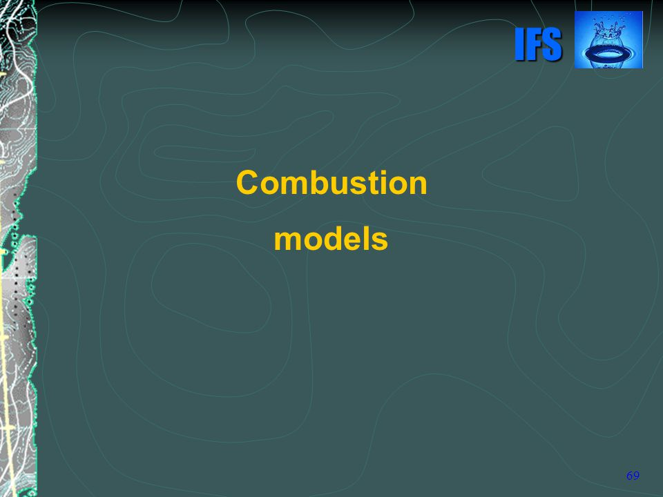Combustion models