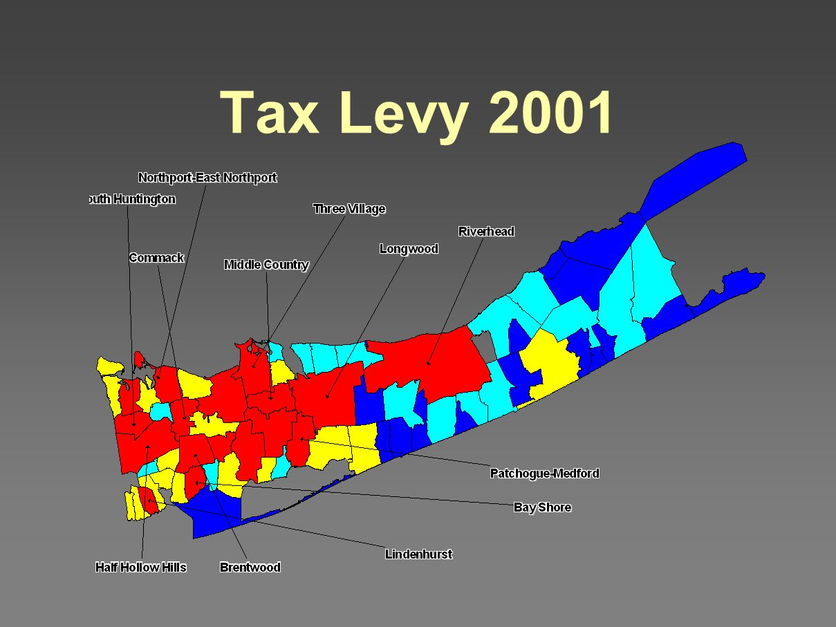 Tax Levy 2001
