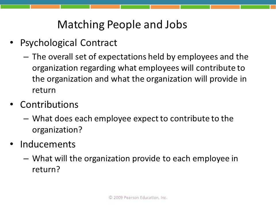 Matching People and Jobs