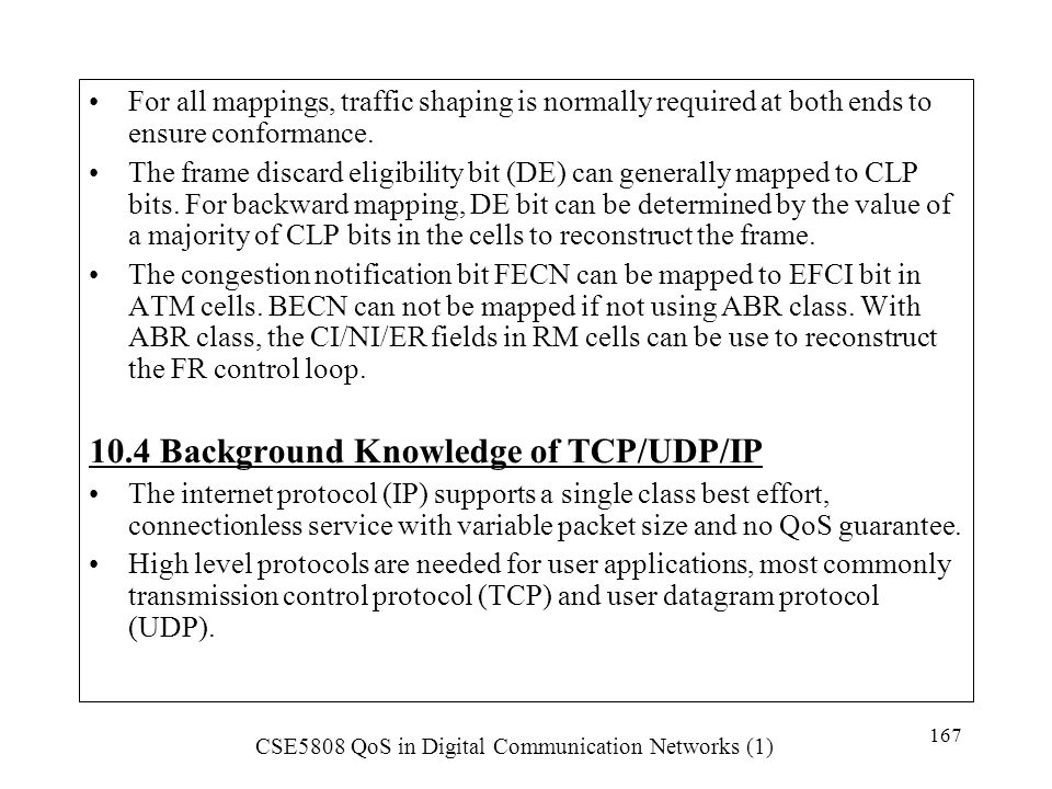 10.4 Background Knowledge of TCP/UDP/IP