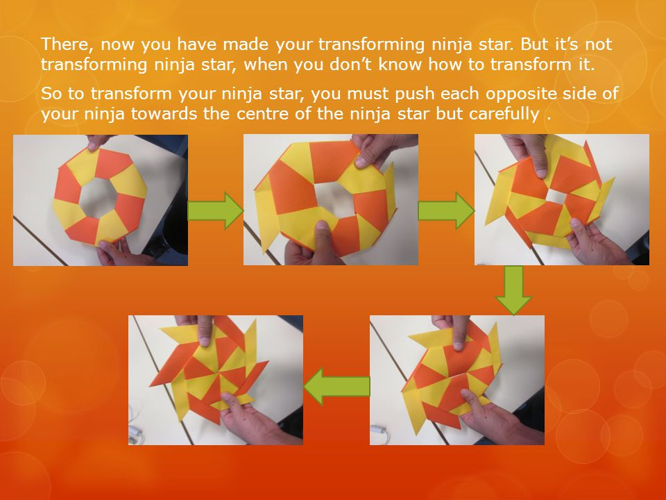 How to Make a 4-Pointed Transforming Ninja Star : 17 Steps (with ... | 720x960