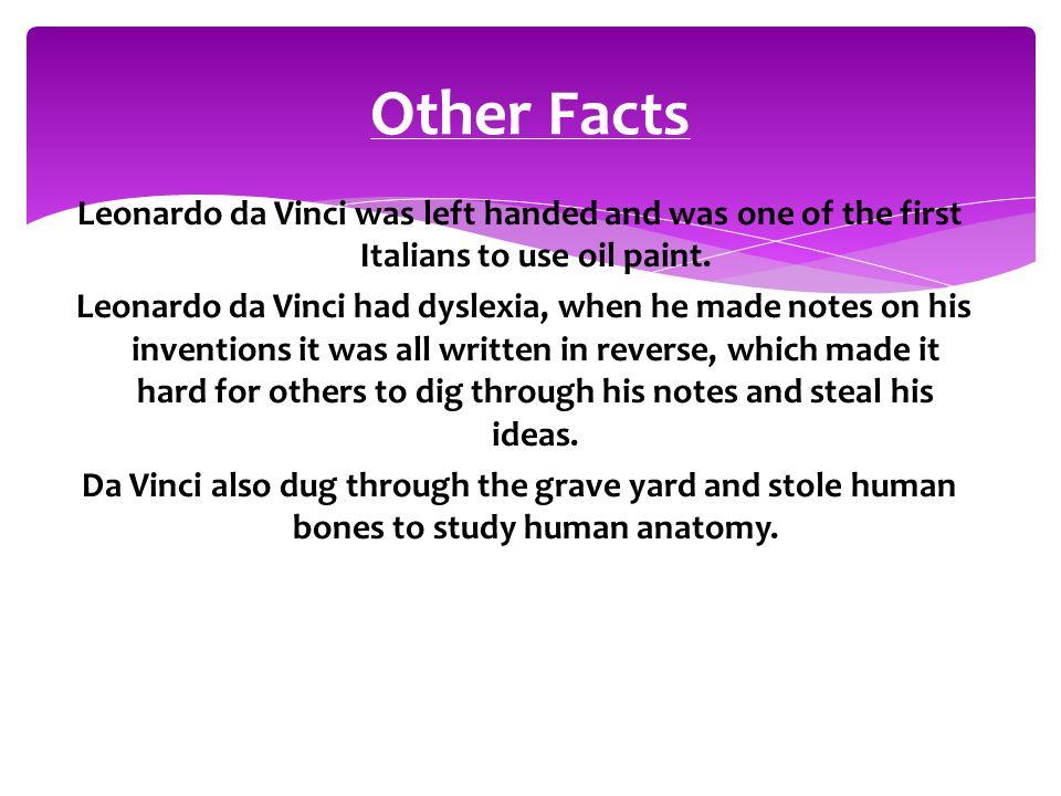 Magnificent Leonardo Da Vinci Anatomy Facts Pattern - Anatomy And ...