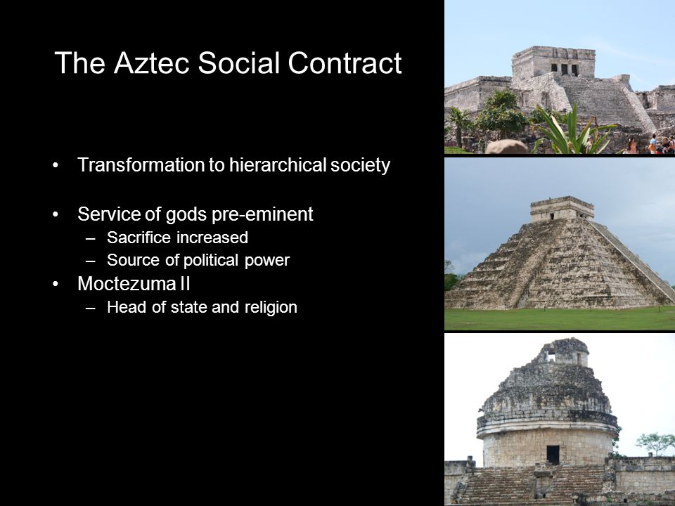 The Aztec Social Contract