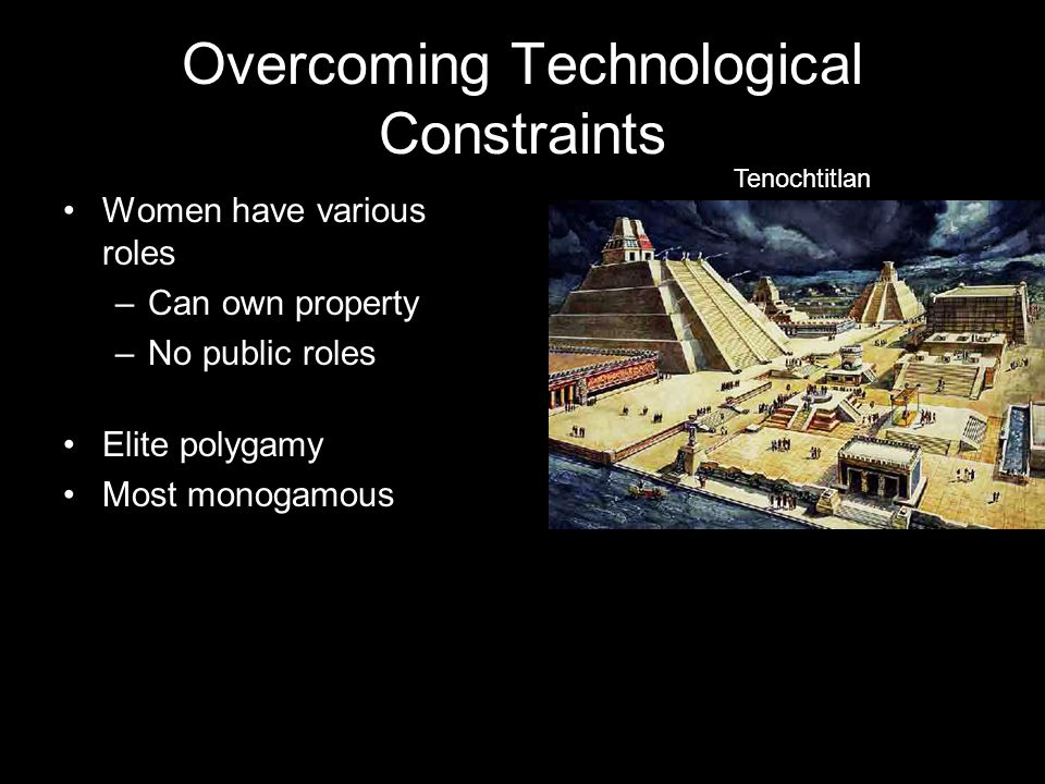 Overcoming Technological Constraints