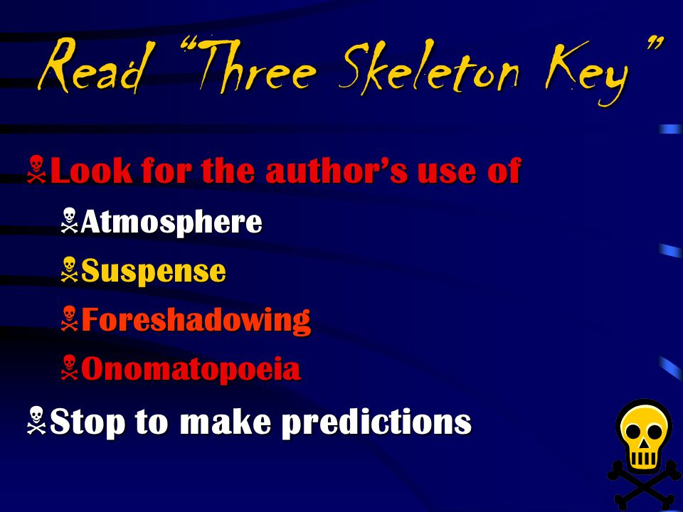 Three skeleton key by george g toudouze ppt video online download read three skeleton key ccuart Images