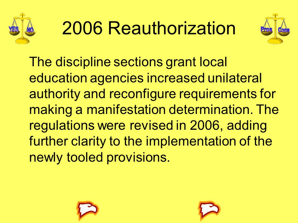 2006 Reauthorization