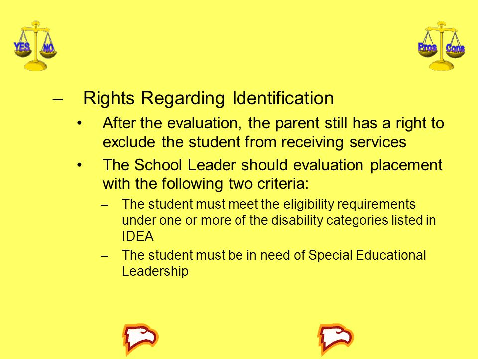 Rights Regarding Identification