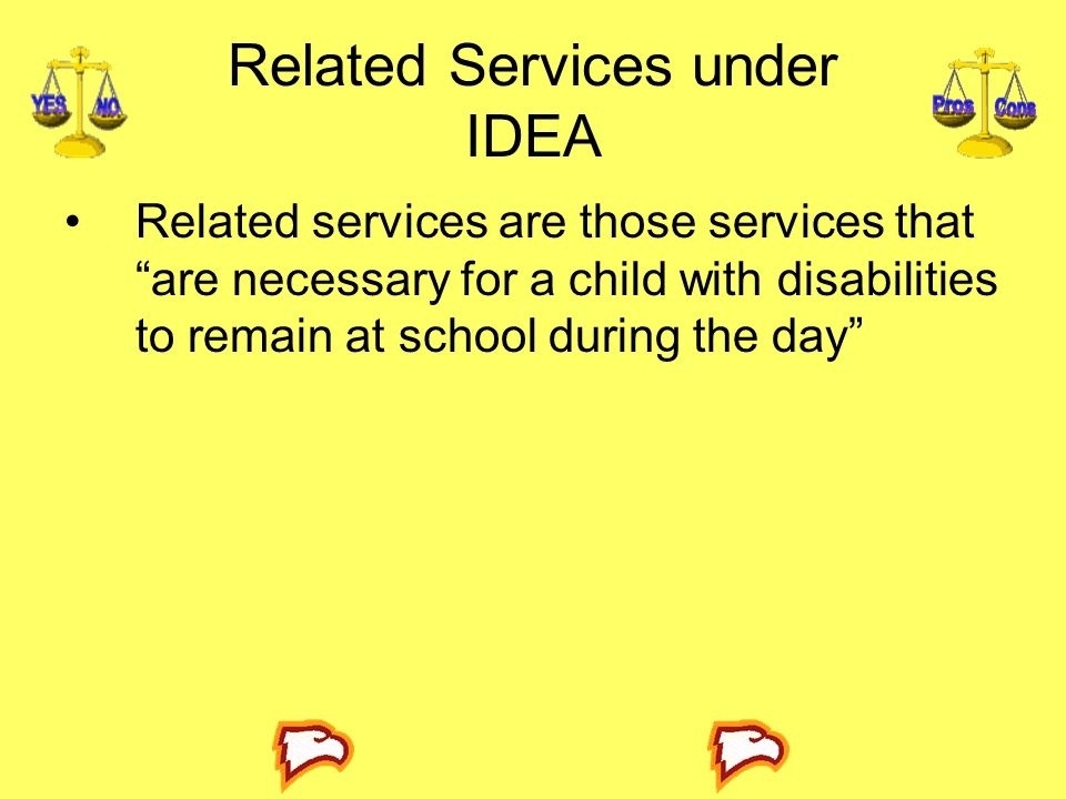 Related Services under IDEA