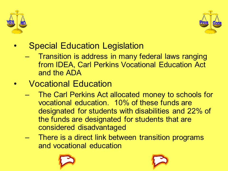 Special Education Legislation